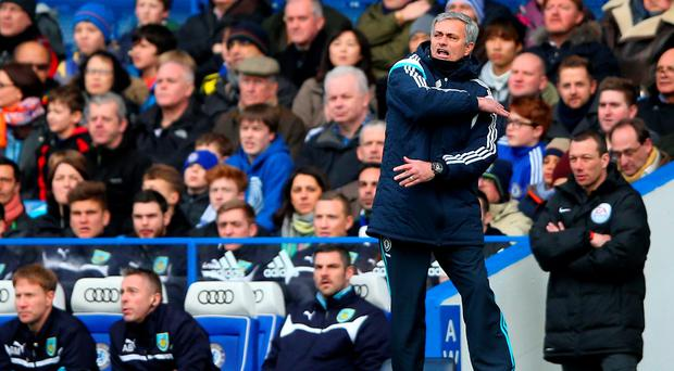 Jose Mourinho launched a thinly-veiled attack on referee Martin Atkinson after Chelsea's draw with Burnley.