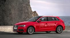 Clean and fast: The Audi A3 e-tron is a powerful advocate for an electric/hybrid future