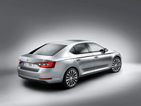 Better kit: The new Skoda Superb