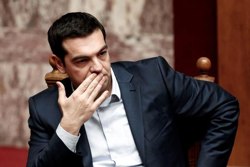 With a deal, of sorts, to keep Greece in the eurozone, Prime Minister Alexis Tsipras marked his first month in office this weekend acknowledging that only now does the hard work begin (REUTERS/Alkis Konstantinidis)