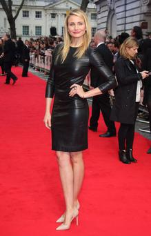 Cameron Diaz attends the UK Gala premiere of