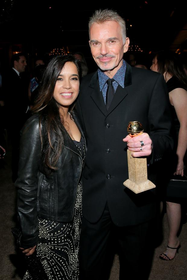 Billy Bob Thornton pictured with his sixth wife.