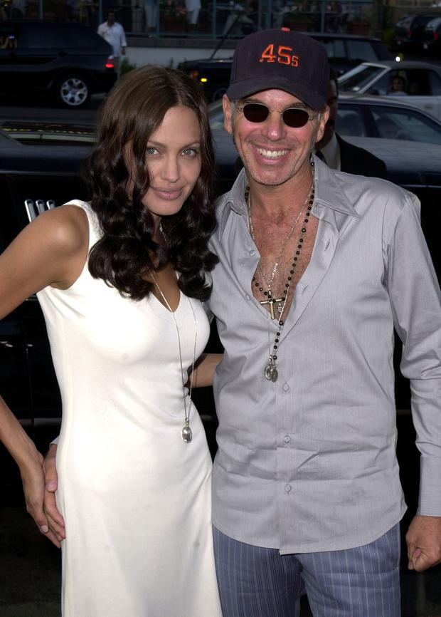 Angelina Jolie & Billy Bob Thornton were married for three years in the noughties