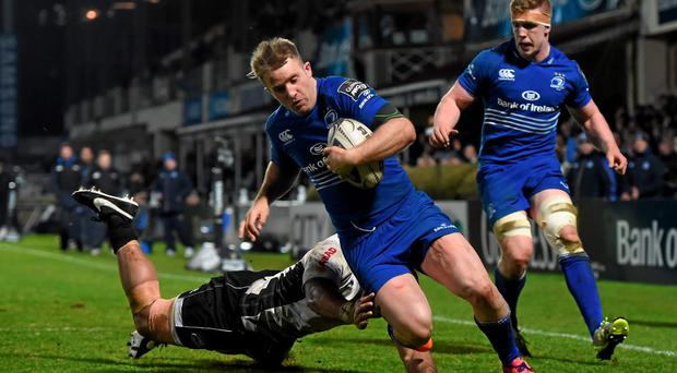 Leinster's Luke Fitzgerald has fought back from two career-threatening injuries and has in the past admitted that feared for his playing future. Photo: Stephen McCarthy / SPORTSFILE
