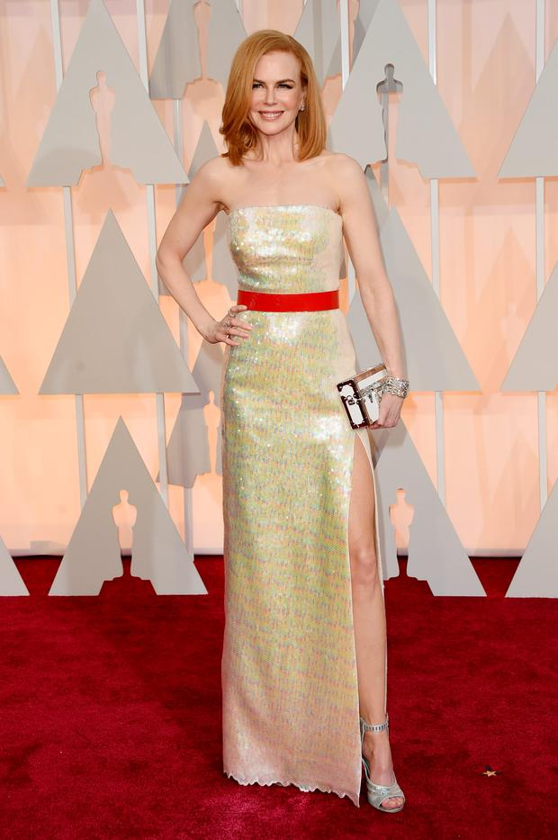 HOLLYWOOD, CA - Actress Nicole Kidman attends the 87th Annual Academy Awards