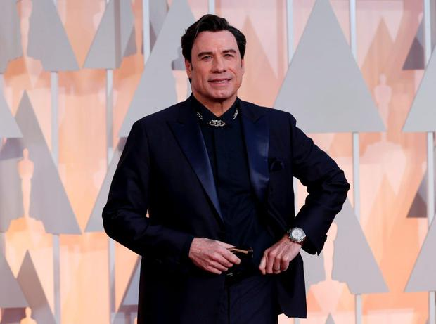 John Travolta at the Oscars