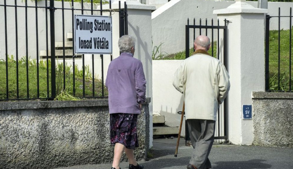 The over-50s are probably the most politically aware group in the country