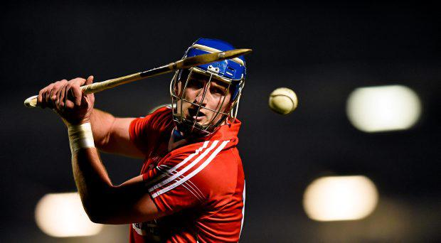 Patrick Horgan, Cork, strikes a free. Allianz Hurling League Division 1A, round 2