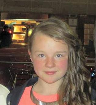 Crash victim Georgia Doherty (13) who died in a car crash in Derry