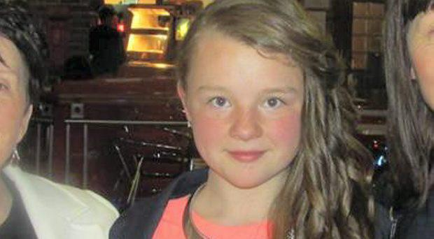 Crash victim Georgia Doherty (13) [centre] who died in RTA in Derry 22/02/15