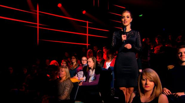 Kathryn Thomas on The Voice of Ireland