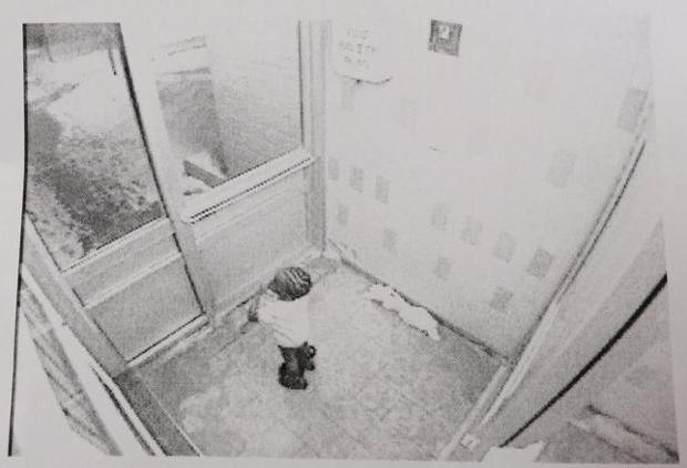 Elijah was seen around 4am in the lobby of his family apartment block. Photo: Toronto Police