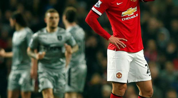 Manchester United's Robin van Persie has been struggling to recapture his form this season.