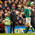 Jamie Heaslip is in the provisional squad to play England