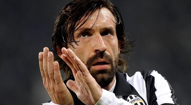 Playmaker Andrea Pirlo is at the heart of Juventus' Champions League challenge