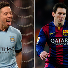 Samir Nasri doesn't make it but Lionel Messi is unquestionably in the team