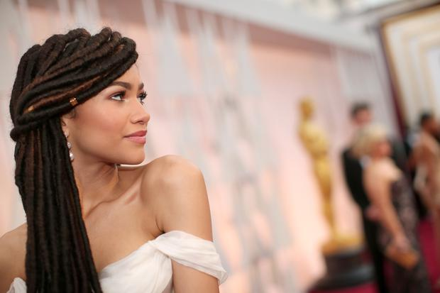 HOLLYWOOD, CA - FEBRUARY 22: Actress Zendaya attends the 87th Annual Academy Awards at Hollywood & Highland Center on February 22, 2015 in Hollywood, California. (Photo by Christopher Polk/Getty Images)