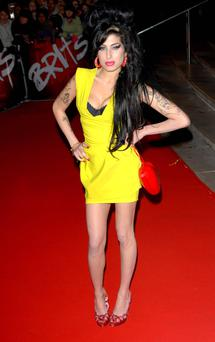 Amy Winehouse wore one of her most iconic looks in 2007.