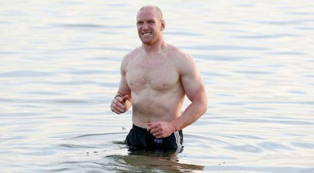 Paul O'Connell has topped a poll of Ireland's sexiest rugby players - beating the much lusted-after former captain Brian O'Driscoll.