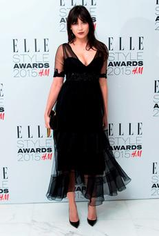 Daisy Lowe attends the Elle Style Awards 2015 at Sky Garden @ The Walkie Talkie Tower