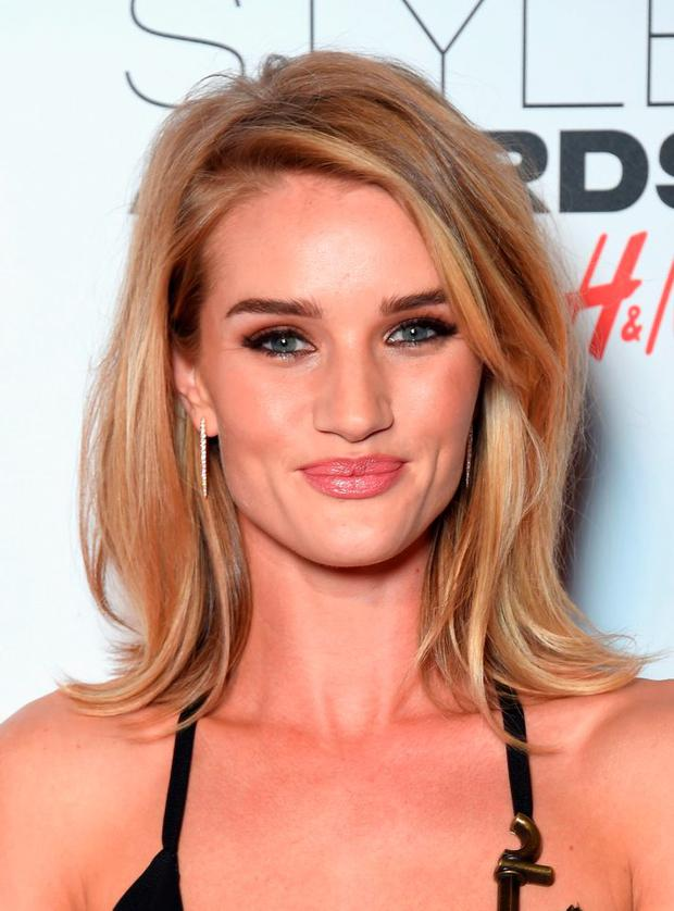 Rosie Huntington-Whiteley attends the Elle Style Awards 2015 at Sky Garden @ The Walkie Talkie Tower