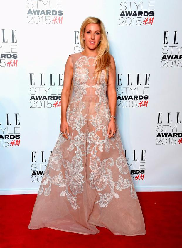 Ellie Goulding during the Elle Style Awards 2015 at Sky Garden @ The Walkie Talkie Tower