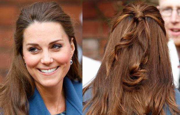Fifty Strands Of Grey How Kate Middleton S Hair Made