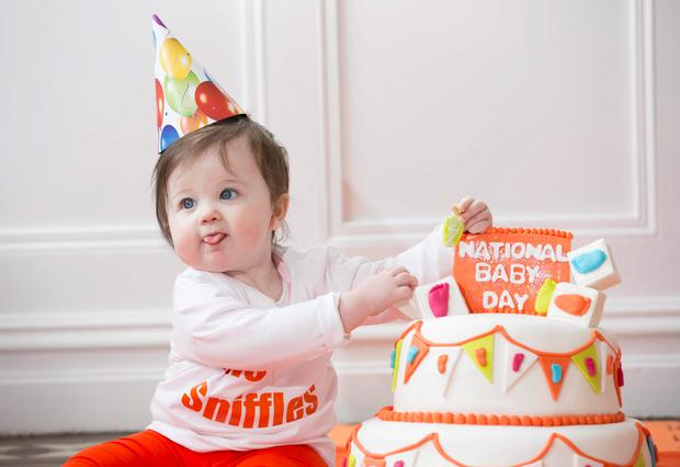 Isabella (10 months) joined Nurofen for Children to celebrate the return of National Baby Day. To celebrate, pharmacies nationwide will provide advice to parents on children's ailments such as cold & Flu and pain while also giving away 70,000 free thermometers (no purchase necessary).