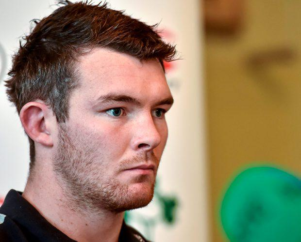 Ireland's Peter O'Mahony during a press conference