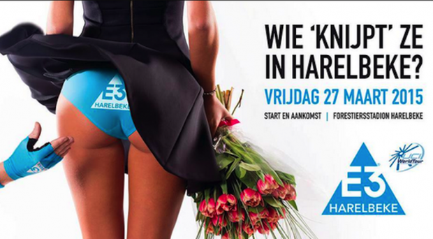 The poster has been brandished sexist by equality groups.