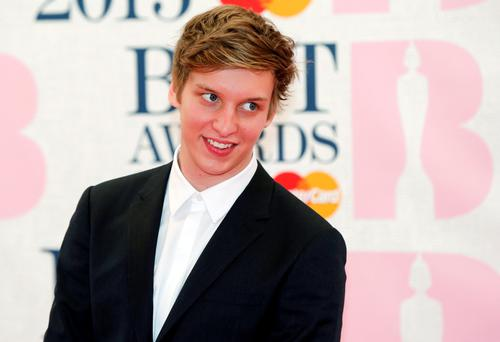 Singer George Ezra arrives for the BRIT music awards at the O2 Arena in Greenwich, London