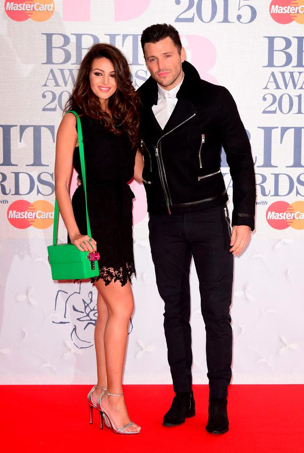 Michelle Keegan and Mark Wright wed in England in May of this year.