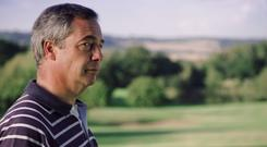 Nigel Farage in the Paddy Power advert