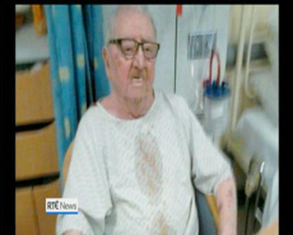 Gerry Feeney appeared on RTE News today