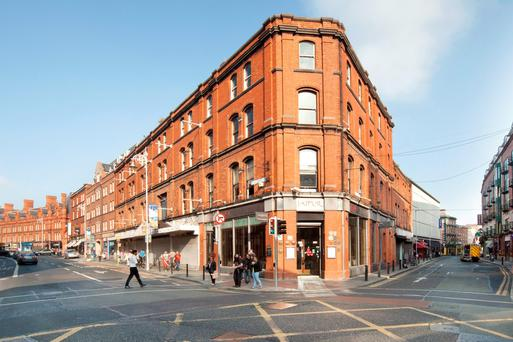 The property on South Great George's Street had been marketed for more than €6m by Knight Frank
