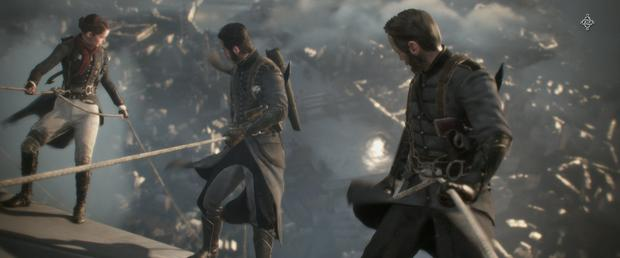 The Order 1886: This level is set aboard a giant zeppelin