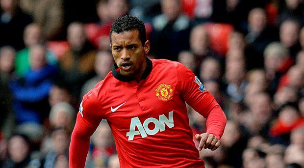 Manchester United's Luis Nani