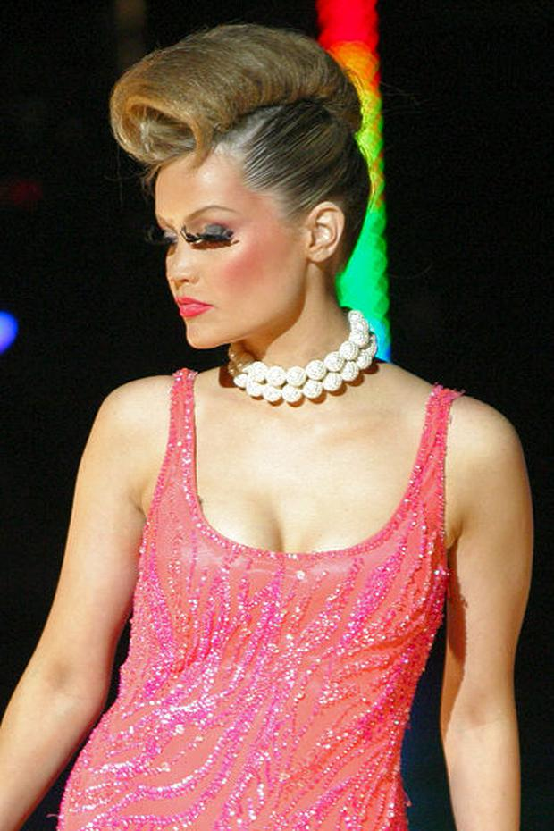 Laura Whitmore at the DCU Fashion Show, 2005