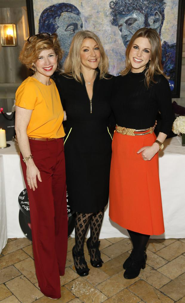Sonya Lennon, Cheryl Joannides and Amy Huberman at the Bobbi Brown Dress For Success charity lunch at Residence