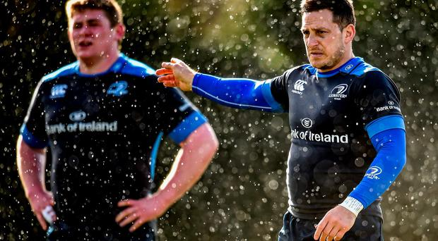 Jimmy Gopperth during squad training