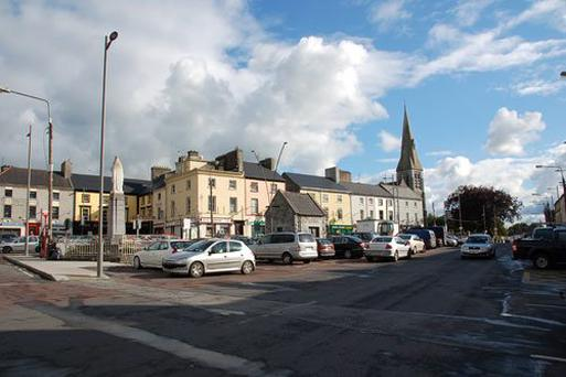 Struggle: Gort was a town reliant on the construction sector