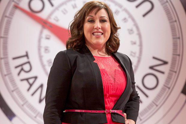 Leader Louise Ormsby pictured at the Operation Transformation catwalk finale