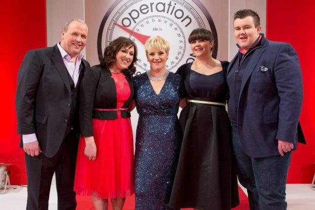 Leaders Mark McArdle, Louise Ormsby, Eilish Kavanagh, Veronica Horgan and Alan Mullen pictured at the Operation Transformation catwalk finale