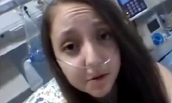 Valentina Maureira, who at 14-years-old has asked for the right to die