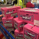 Mr Maguire bought every Pink Snack he could find.