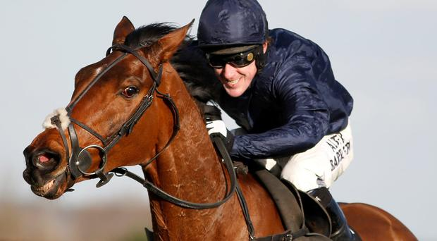 Tony McCoy drives Bandit Country to victory at Newbury yesterday