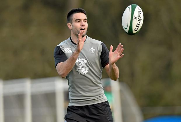 Conor Murray has yet to taste victory in a Six Nations game against England