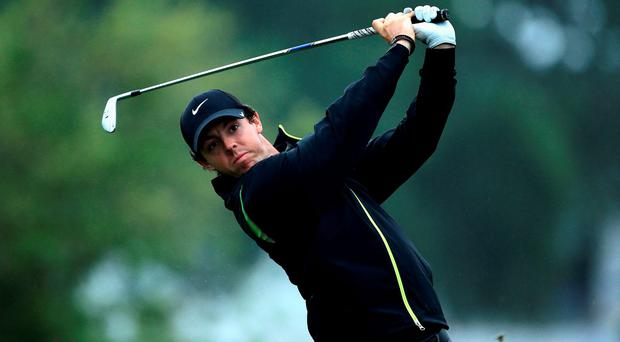 Rory McIlroy on his way to missing the cut at the Honda Classic