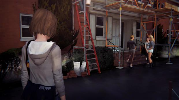 Life is Strange: Max doesn't get on with everybody in college – least of all this clique