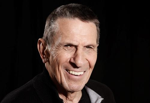 Actor Leonard Nimoy in Beverly Hills, California. (AP Photo/Matt Sayles, File)